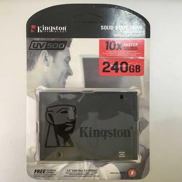SSD Laptop 240GB Kingstone UV500