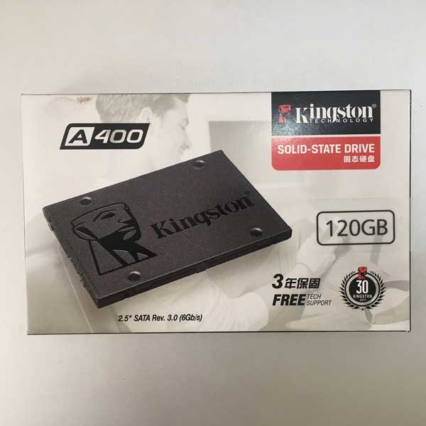 SSD Laptop 120GB Kingstone A400