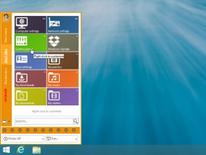 Tombol Start Menu di Windows 8