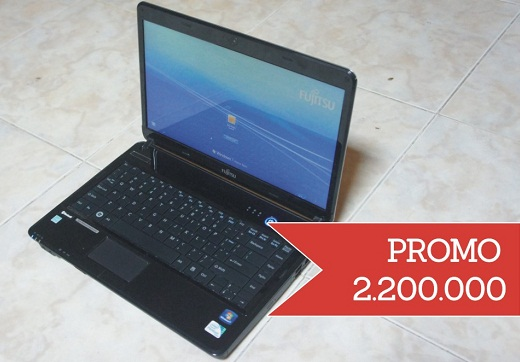 Laptop Second Fujitsu Lifebook LH531